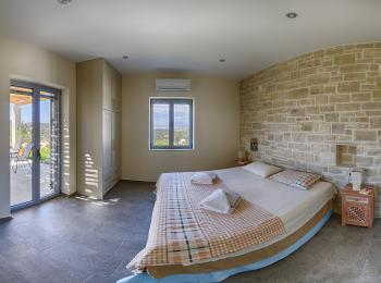 Villa Vouno / Berge Schlafzimmer #1